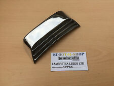 LAMBRETTA GP REAR FRAME GRILL. POLISHED ALLOY BRAND NEW
