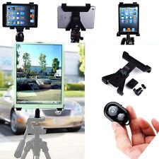 """1/4"""" Camera Tripod Adapter Mount Holder W Shutter F IPAD2 3 4 Mini Air Tablet"""
