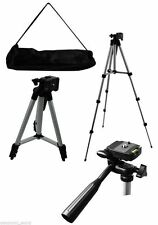 CAMERA TRIPOD HEAVY DUTY STAND MOUNT UNIVERSAL CANON SONY NIKON FREE BAG