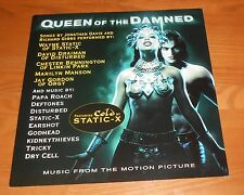 Queen of the Damned Movie Poster 2-Sided Flat Square 2002 Promo 12x12 Soundtrack