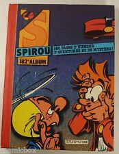 SPIROU reliure album du journal n° 182 intégrale n° 2485 au 2495 recueil de 1986