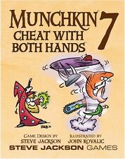 Munchkin 7: Cheat With Both Hands Card Game Expansion From Steve Jackson Games
