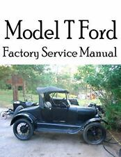 Model T Ford Factory Service Manual : Complete Illustrated Instructions for...