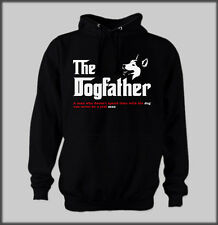 FUNNY GOD FATHER FAMILY QUOTE SIBERIAN HUSKY HOODY SLED SIBES DOG HUSKIES MUSH