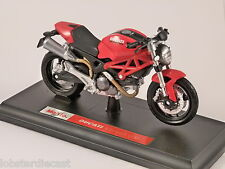 DUCATI MONSTER 696 1/18 scale motorbike model by MAISTO