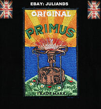 PRIMUS STOVE COLLECTORS SEW ON PATCH  6 X 3¾ inch   150mm x 93mm