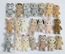 Random Pick lot 5  figures Sylvanian Families Dog Bear Mouse Family rabbit sheep