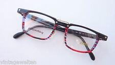 Zeiss extravagante Herren-Brillenfassung Acetat farbig Markenbrille GR:M 47-19