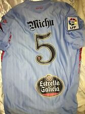 Camiseta Michu Celta Vigo 2009/10 No Match Worn Shirt Maglia Trikot
