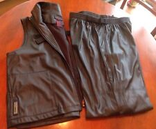 Ralph Lauren Pants Vest Active Wear Athletic Exercise Outfit Ski Waxed Feel