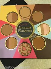 Too Faced * THE LITTLE BLACK BOOK OF BRONZERS *Snow Bunny/Chocolate Soleil NIB