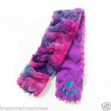 Faux Fur Monster Paw Muffler Scarf Wrap With Hand Warmer Pockets ~ New With Tags