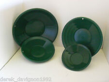 "4pc SE 8"", 10"", 12""  & 14"" PANNING Green GOLD PANS"