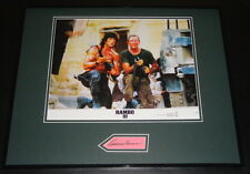 Richard Crenna Signed Framed 16x20 Photo Poster Display Rambo w/ Stallone