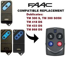 FAAC TM1 300, 418, 433, 868 Remote Control Multi Frequency Duplicator 286-868MHz