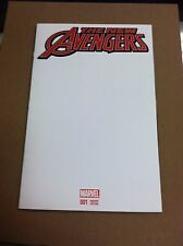 The New Avengers #1 blank sketch variant.First printing.