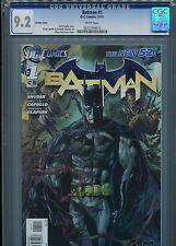 Batman #1  New 52 (Variant cover)  CGC 9.2  White Pages