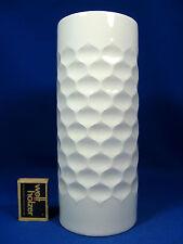70´s POP ART Werner Uhl DESIGN SCHERZER Relief porcelain VASO 502 - 1 24,5 cm