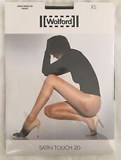 Wolford Womens Satin Touch 20 Tights Galaxy Size X Small