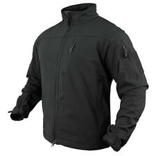 Condor Outdoor Tactical Phantom Soft Shell Military Stealth Jacket Black Medium