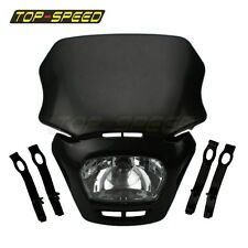 Motorcycle Dirt Bike Dual Sport Enduro Headlight Lamp For Honda Suzuki Yamaha