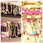Various Wooden Necklace Kids Gifts Party supply lovely Cartoon Jewelry Bracelet