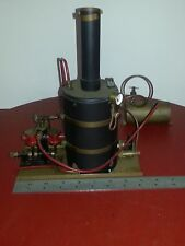 VINTAGE Model Live Steam Engine Boiler Boat Ship Steamship Cheaddar Finescale