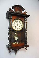 Antique Wall Clock Regulator in Oak Wood Junghans Old Antique Clock Vintage