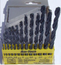 13Pc HSS Drill Bit Set Plastic Wood Metal 1.5mm - 6.5mm