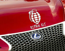 Repair Kit Car Sticker Art Decal Funny Vinyl For Window Bumper Panel Tool Boxes