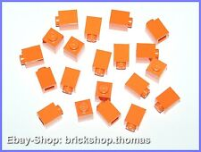 Lego 20 x Basicsteine Bausteine orange - 3005 - Brick 1 x 1  - NEU / NEW