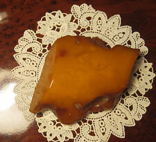 Antique Huge Baltic AMBER stone **One piece 152.8 gram** RARE !!