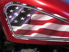 Sportster gas tank decals for Harley Davidson - PATRIOTIC chopper bobber Ratbike