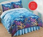 Dolphins, Beach, Tropical, Nautical King Comforter Set (4 Piece Bed In A Bag)