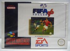 FIFA 96 SOCCER - SNES SUPER NINTENDO PAL - BOXED