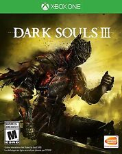 Dark Souls 3 III Microsoft Xbox One Standard Edition Brand New Sealed
