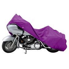 XXXL Purple Waterproof Heavy Duty Deluxe Motorcycle Cover Harley Davidson Fatboy