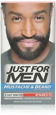 Just for Men Brush-In Color Gel for Mustache Beard Jet Black M-60 (Pack of 12)