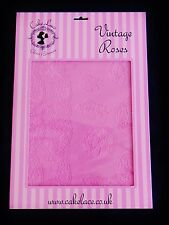 Cake Lace Mat Vintage Rose By Claire Bowman