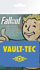 Fallout 4 Vault Tec Card Holder Brand New Official Pip Boy Gaming Merchandise