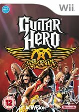 Nintendo Wii Gioco Guitar Hero Aerosmith Hits Collection MERCE NUOVA