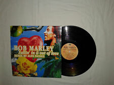 "Bob Marley ‎– Fallin' In & Out Of Love - Disco Mix 12"" Vinile ITALIA 1997 House"