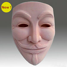 Guy Fawkes Mask - Detail of high relief sculpture,silicone mold, soap mold
