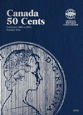 Canada 50 Cents No. 5, 1968-2013, Whitman Coin Folder