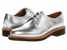 Dr. Martens Women`s 1461 3 eye Core Silver MIE US 8 EU 39 UK 6 Retail $310