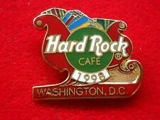 HRC Hard Rock Cafe Washington Christmas 1998 Sleigh