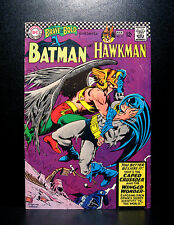 COMICS: DC: Brave and the Bold #70 (1967), Batman/Hawkman - RARE (figure/flash)