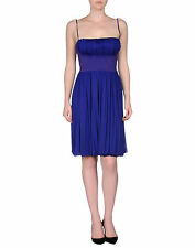 NWT £700 Alessandro dell'Acqua Blue/Purple Dress (Cocktail,Net-a-porter,Millen)
