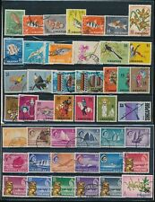 SINGAPORE 1948-2001 COLLECTION SETS + SINGLES FINE USED..213 stamps.. cv 280 GBP
