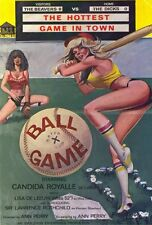 BALL GAME Movie POSTER 27x40 Lisa De Leeuw Candida Royalle Sir Lawerence